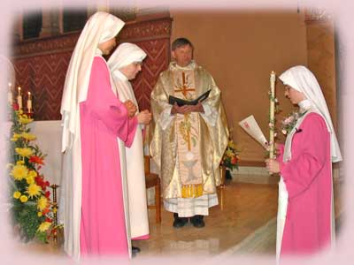Making First Profession of Vows